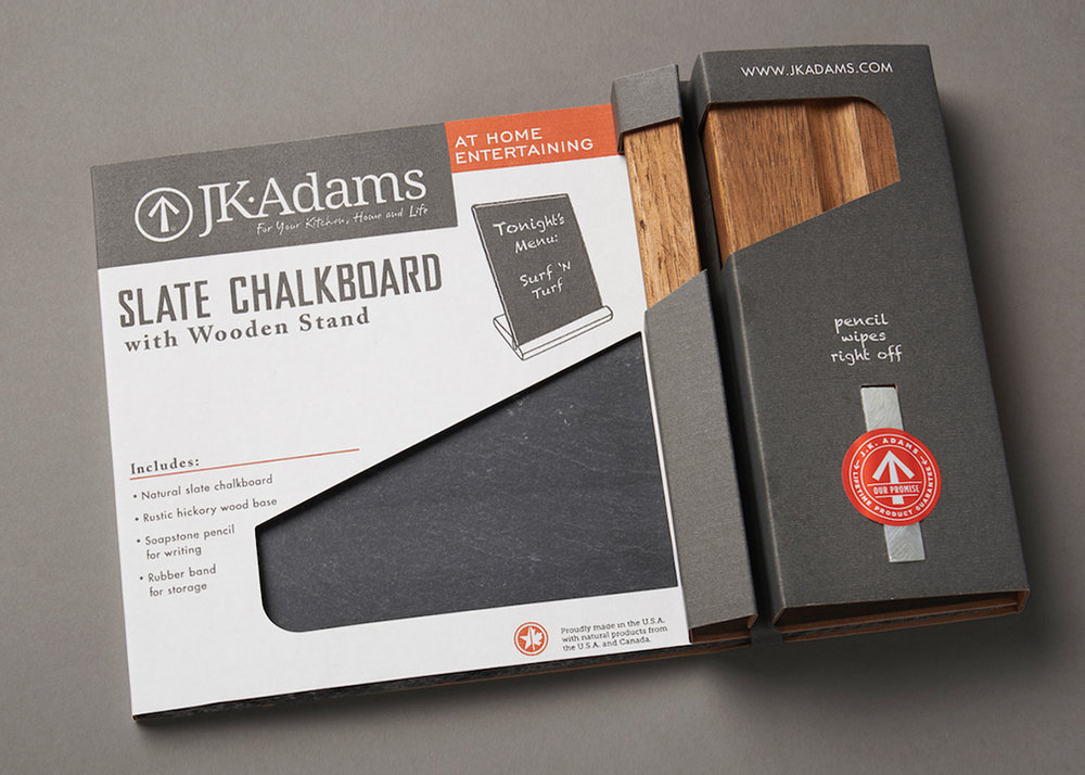 J.K.Adams Packaging Design