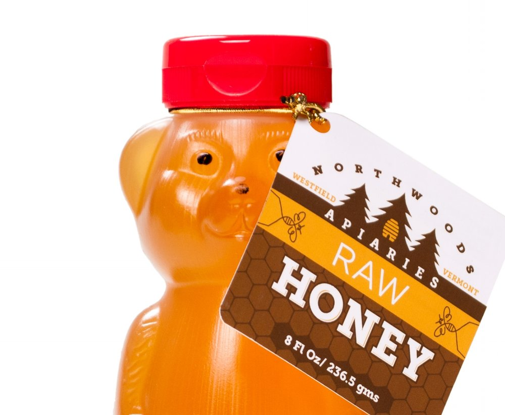 Northwoods Apiaries Honey Bear
