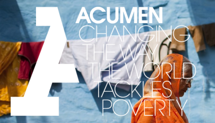 (taken from Acumen's Home Page)