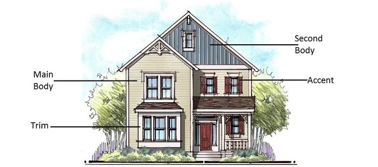 choosing exterior colors housing design matters