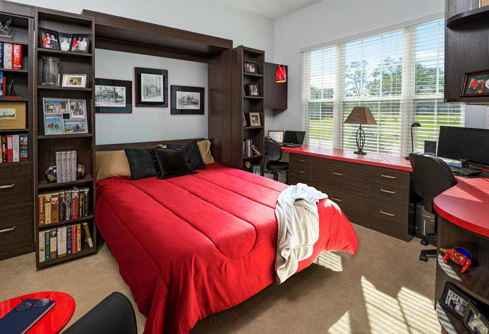 Flex Room with Murphy Bed, 8585 Mabel Drive, Jacksonville, FL.