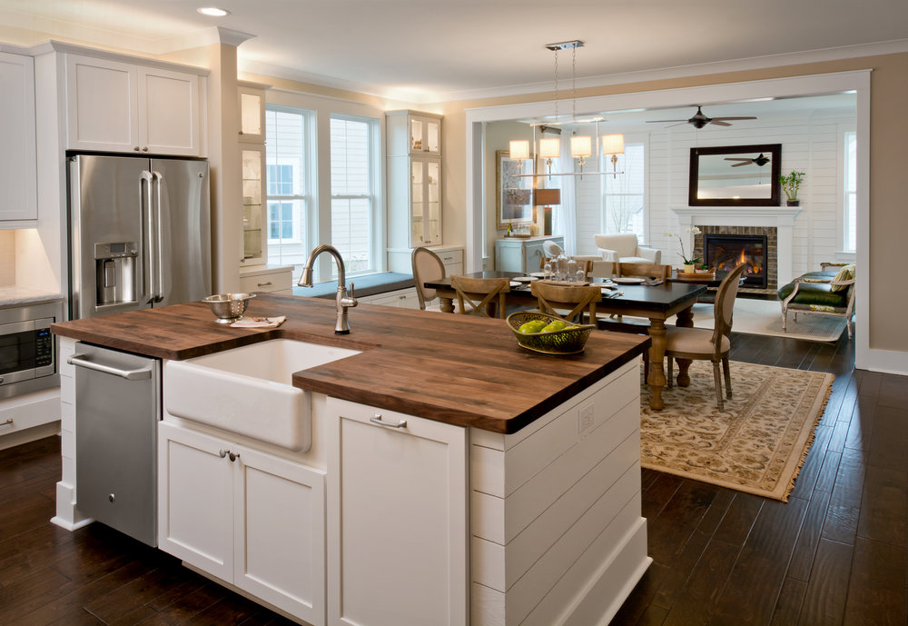 Kitchen, Camelia Model Home, 229 Bumble Way.  Summers Corner, Summerville, SC.