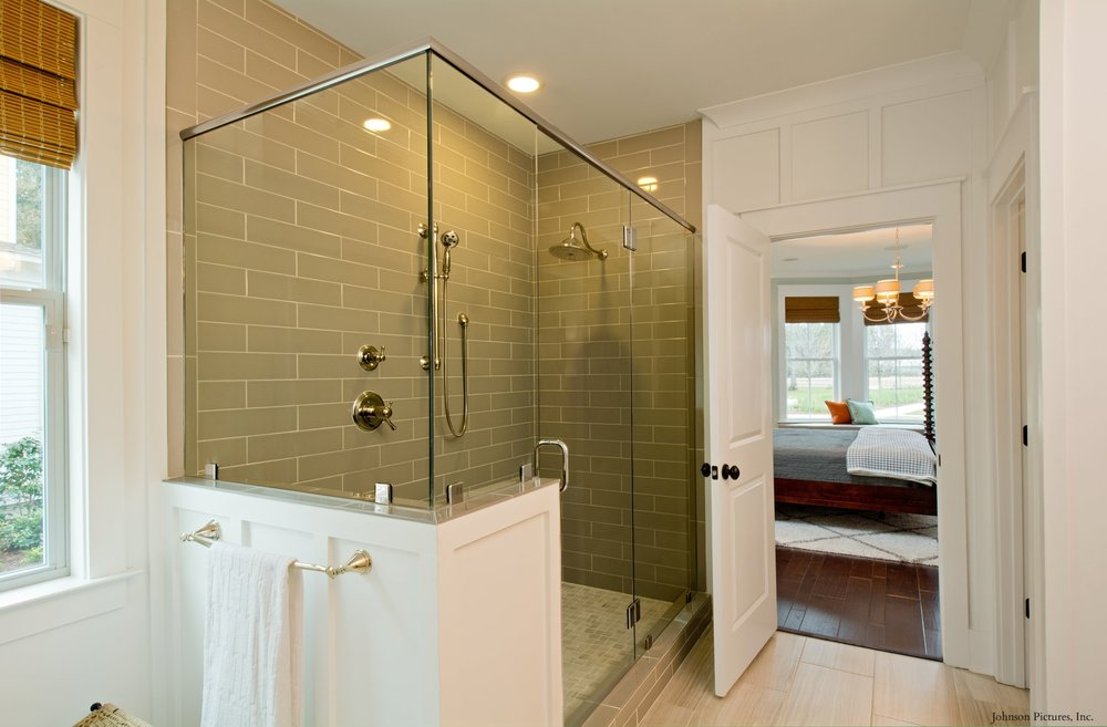 Master Bath, Camelia Model Home, 229 Bumble Way.  Summers Corner, Summerville, SC.
