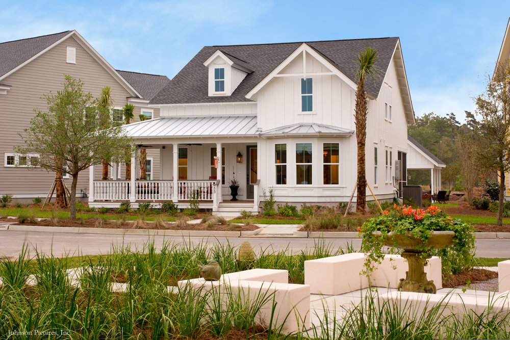 The award-winning Camelia from Sabal Homes effortlessly encapsulates the essence of Farmhouse style.