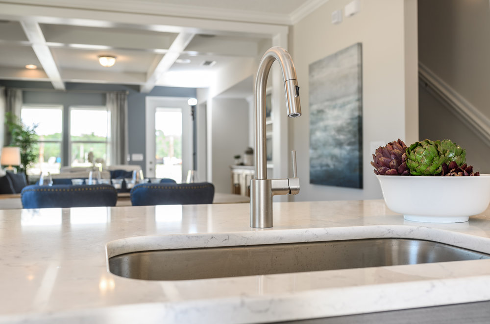 A great photo for selling a faucet - not so much a house.