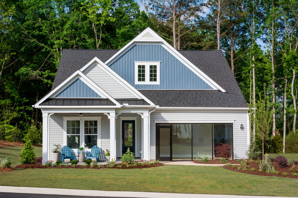 Enthusiast Model Home.  Forge Creek at Flowers Plantation, Clayton, NC.