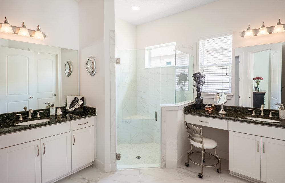 Master Bathroom, 8585 Mabel Drive, Jacksonville, FL.
