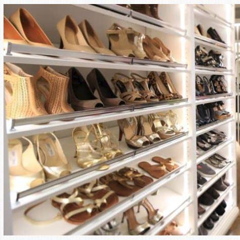 No more blue and black shoe confusion, carolina closets.JPG