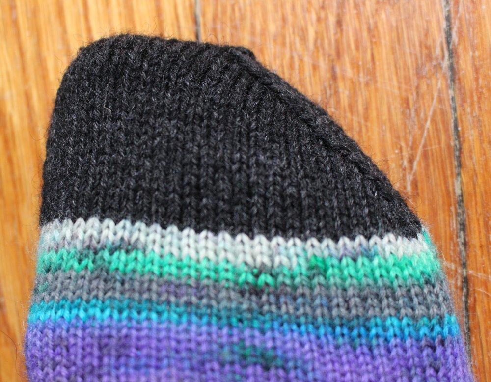 Bespoke Vanilla Sock Pattern With Anatomically Correct Toes