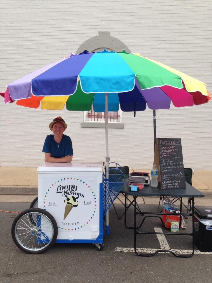 LOREANN GRIMES, Owner & Flavor Creator, Loopy Scoops Ice Cream