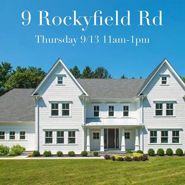 #openhouse TODAY 11am-1pm. Brand new and ready to be enjoyed!! Visit and ask about the option for a #pool 🏊🏼♂️💦Link to this gorgeous #newconstruction #home in bio 👆🏻 #judymichaelisgroup #coleytown #luxuryhomes #luxuryhomesforsale #judymichaelisrealtor #westport #westportct #06880 #justlisted #westportrealestate #forsaleinwestport #westportliving #203 #coldwellbankerwestport #connecticutrealestate #connecticut #connecticutgram #ct