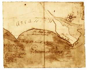 Alexandria Map 1748