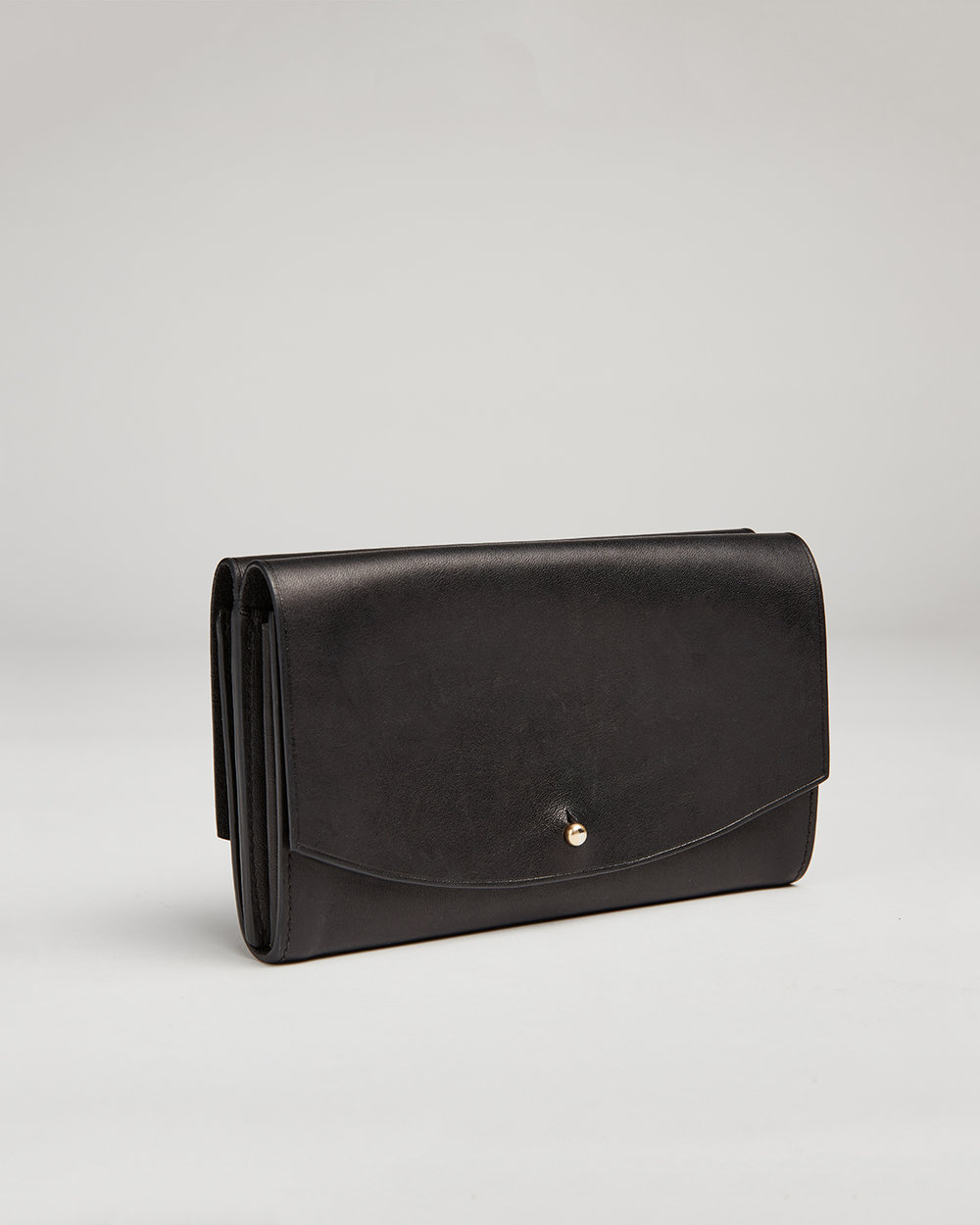 corie humble skagen wallet black double flap