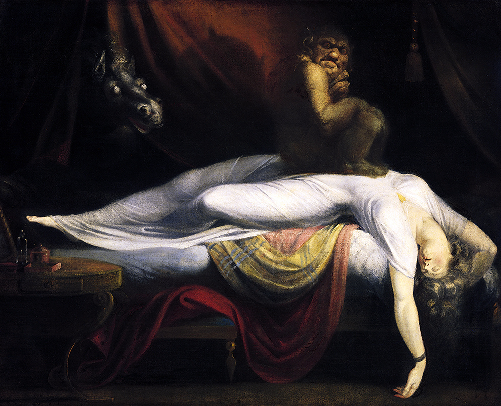 """The Nightmare"" Henry Fuseli, 1781"