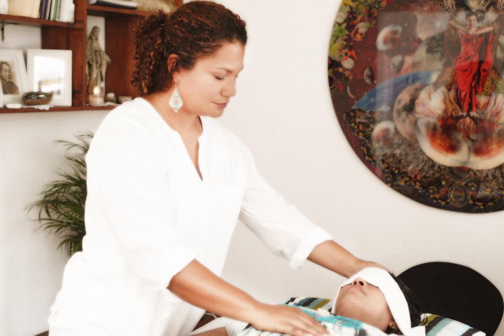 Carolina Luciano, Reiki en Santo Domingo.