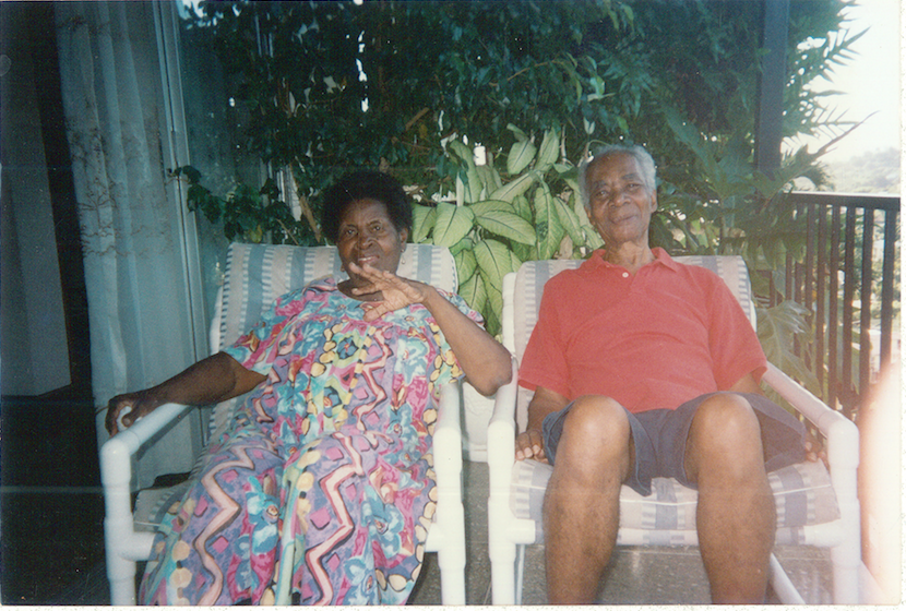 Mrs. Stephenson and her husband Roy