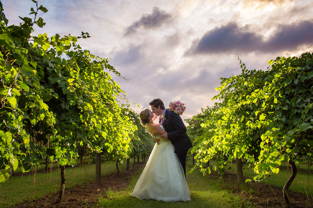 Sarah + Joe, Sanctuary Vineyards, Jarvisburg NC