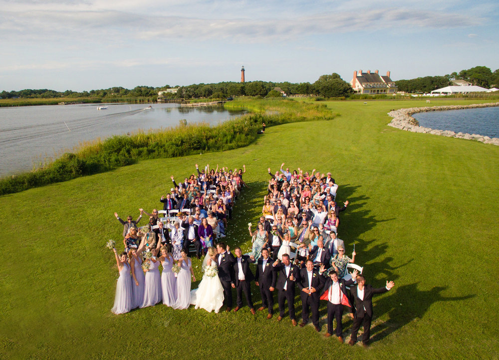 Tricia + Rawles; Whalehead Club Wedding