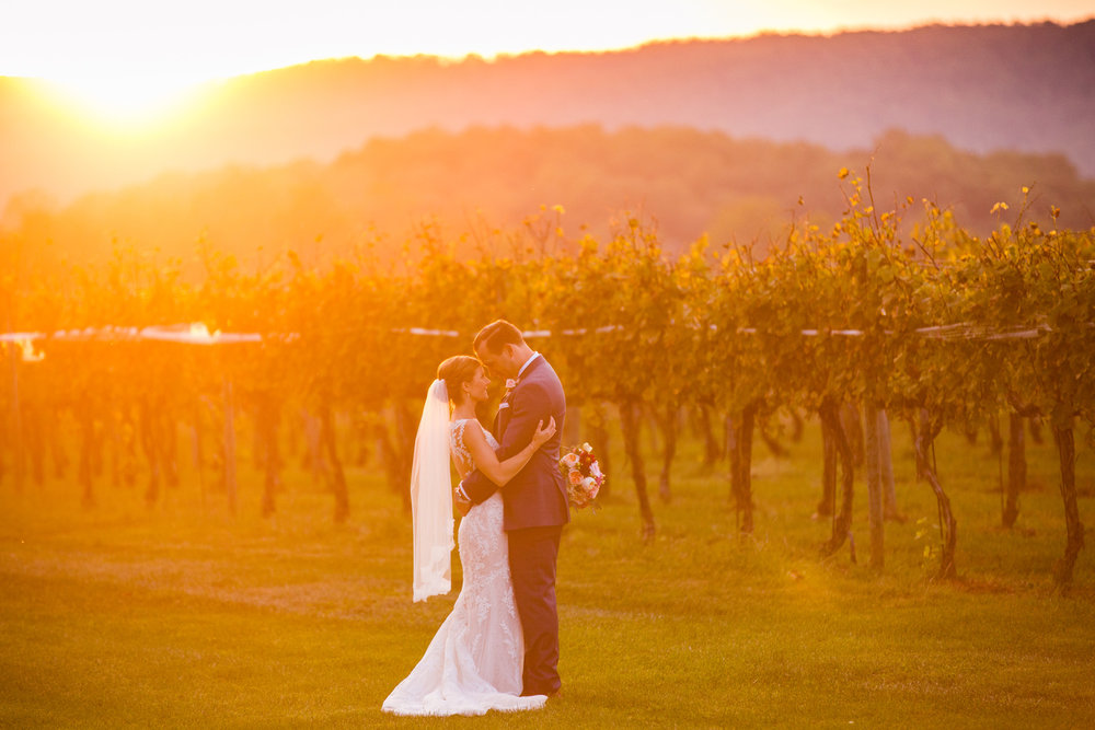 Katie + Nick; Keswick Vineyards Wedding, Charlottesville, VA