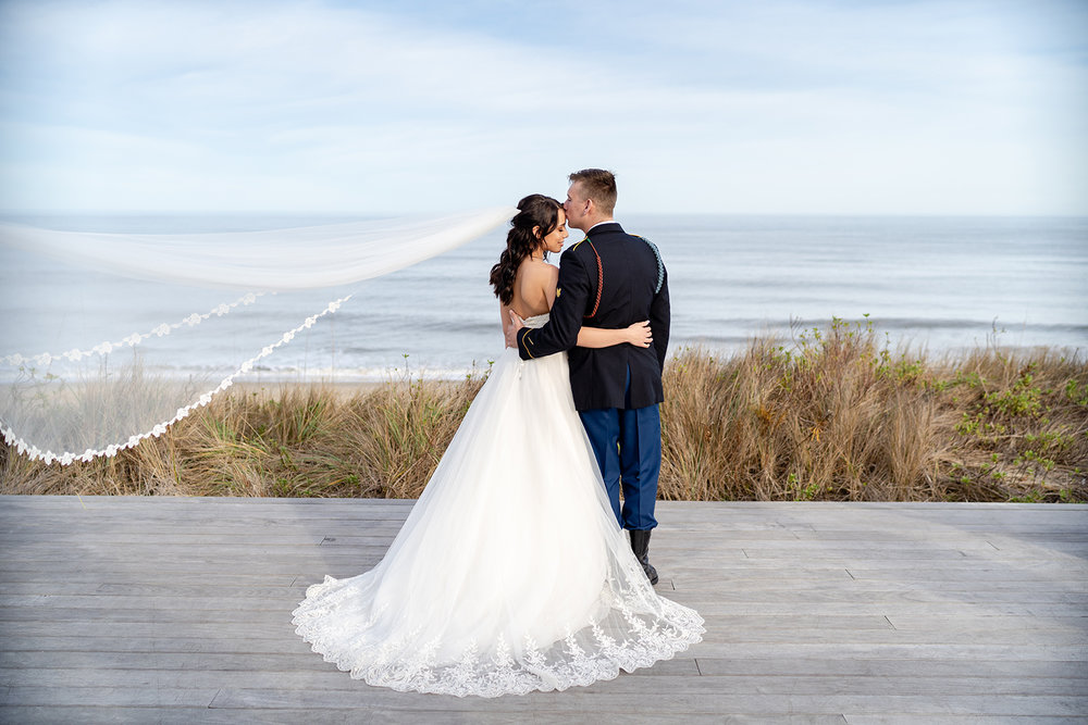 Emma + Tyler; Sanderling Resort Wedding, Duck, NC