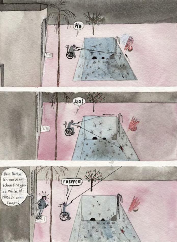 Tegninger af Jul Gordon.
