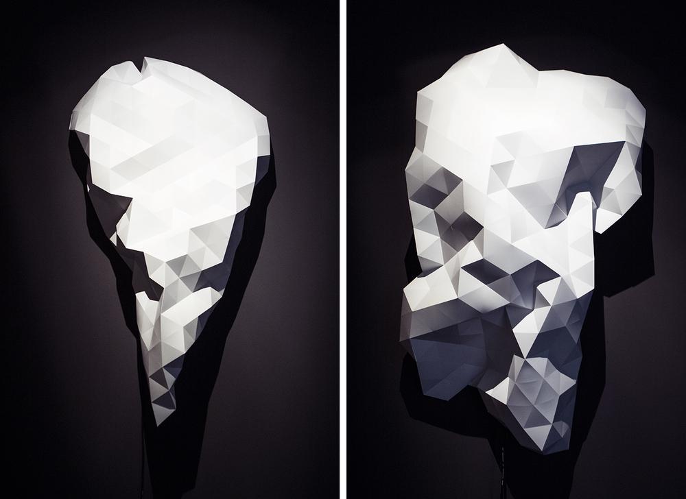 "Lawrence Malstaf | ""Folding"" | All photos © I DO ART Agency."