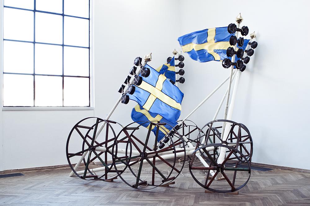 Værk af Peter Johansson.