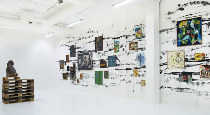 Bastard – Claus Carstensens samling, installationsfoto | Foto: Esbjerg Kunstmuseum.
