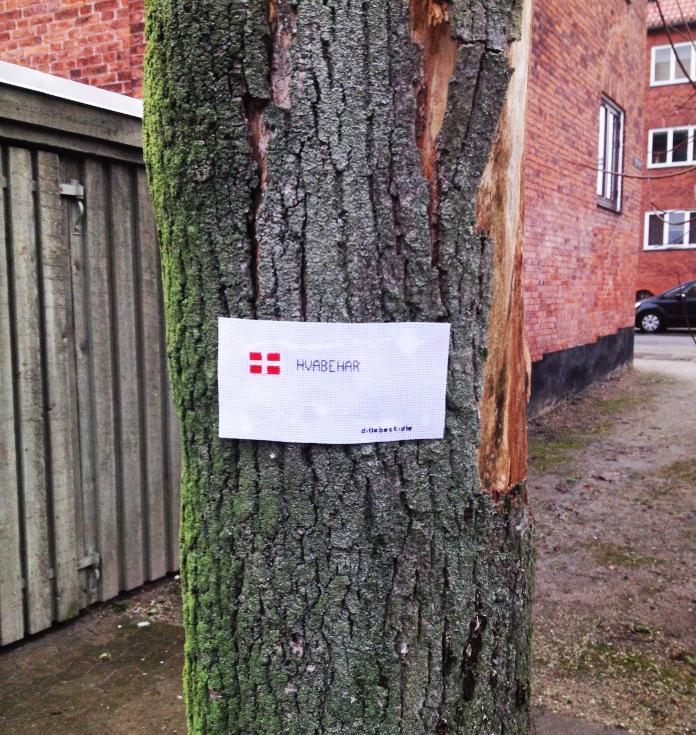 Danmark, hvabehar. Nattergalevej, Nordvest.
