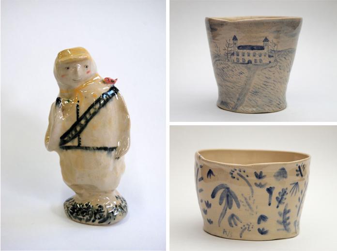 Keramik af Alex Sickling.