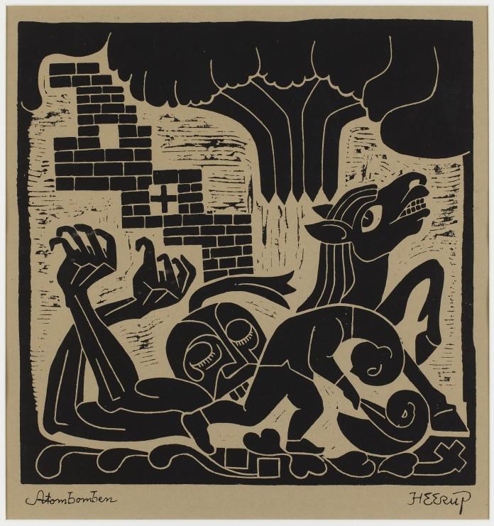 """""""Atombomben"""" af Henry Heerup, fra 1961."""