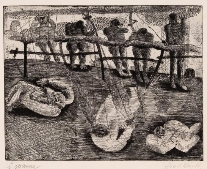 """""""I snorene af Svend Wiig Hansen, fra 1958."""