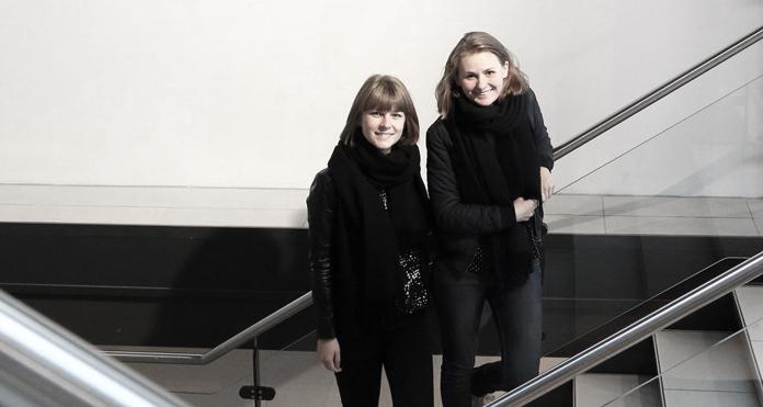 De to stiftere af North of Eden, Katrine Ibsgaard og Lise Bach Lystlund.