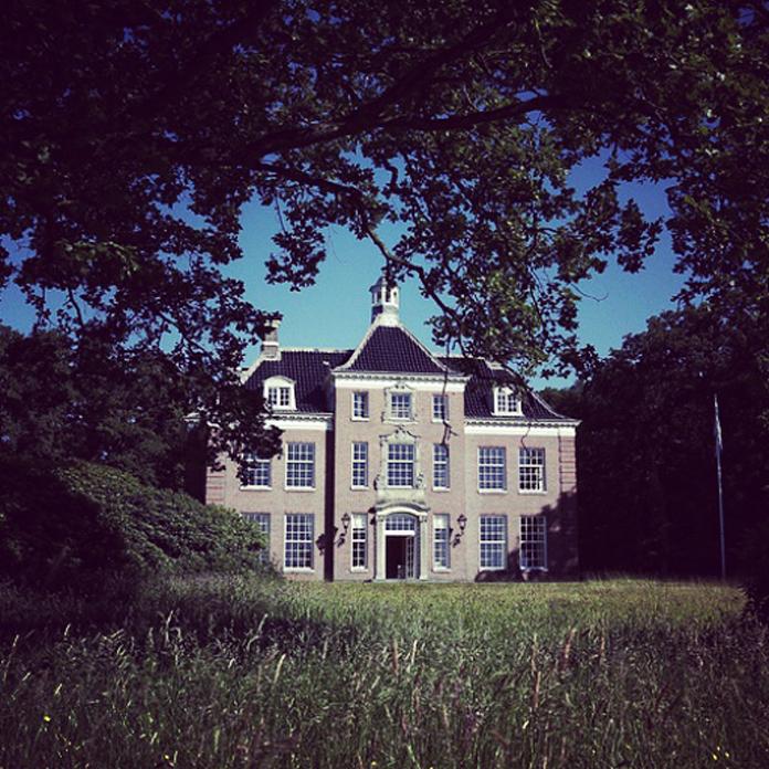 """Leyduin-huset """"Vogelenzang""""."""