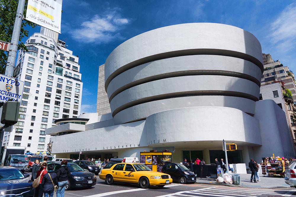 Solomon R. Guggenheim Museum.