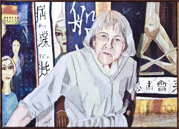 Grete's fortolkning af et Ovartaci-portræt.