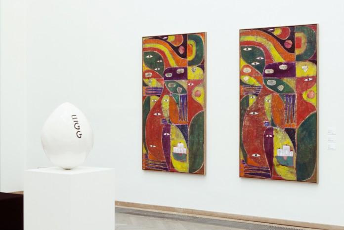 David Shrigley og Alexander Tovborg | Galleri Nicolai Wallner.