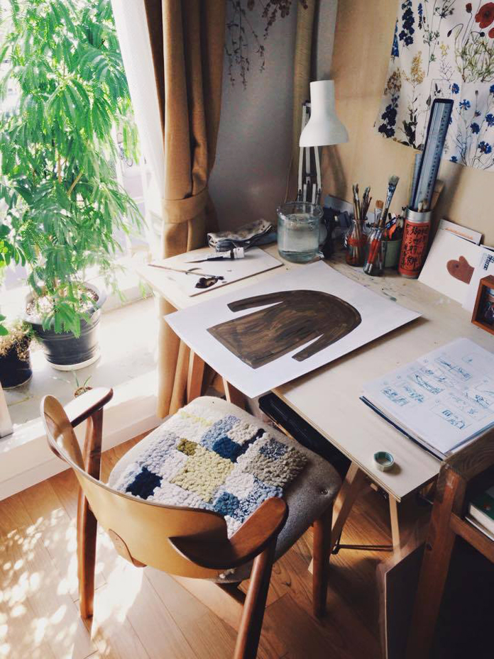 Fumi Koikes workspace.