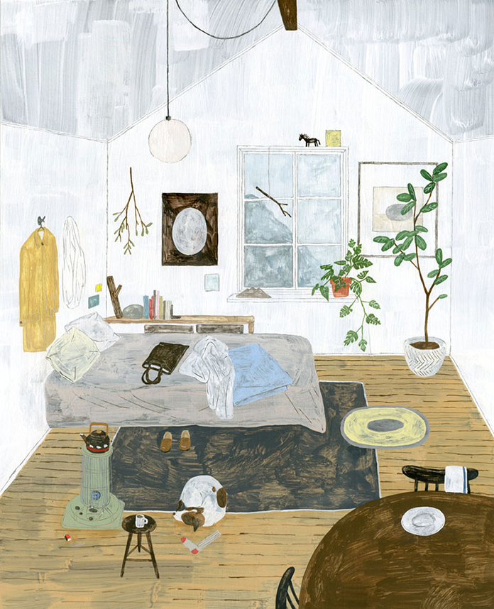 Illustrations by Fumi Koike. Instagram Fmkik.