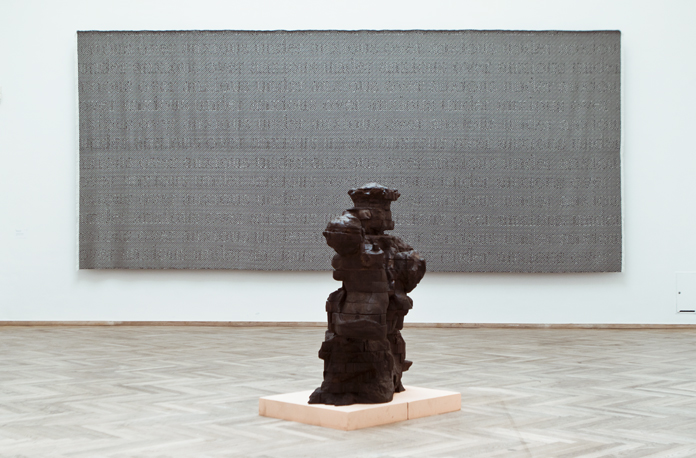 "Mette Clausen ""Selfmachine (pattern in resistance)"", og Frederik Tydén ""Palma""."