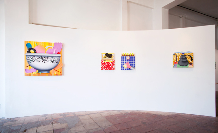 Installation photos from Graves of Craving | Slow Culture Gallery, Los Angeles, CA | 2014.