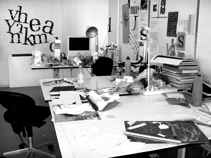 Min bachelor-studieplads på Designskolen Kolding i 2007.