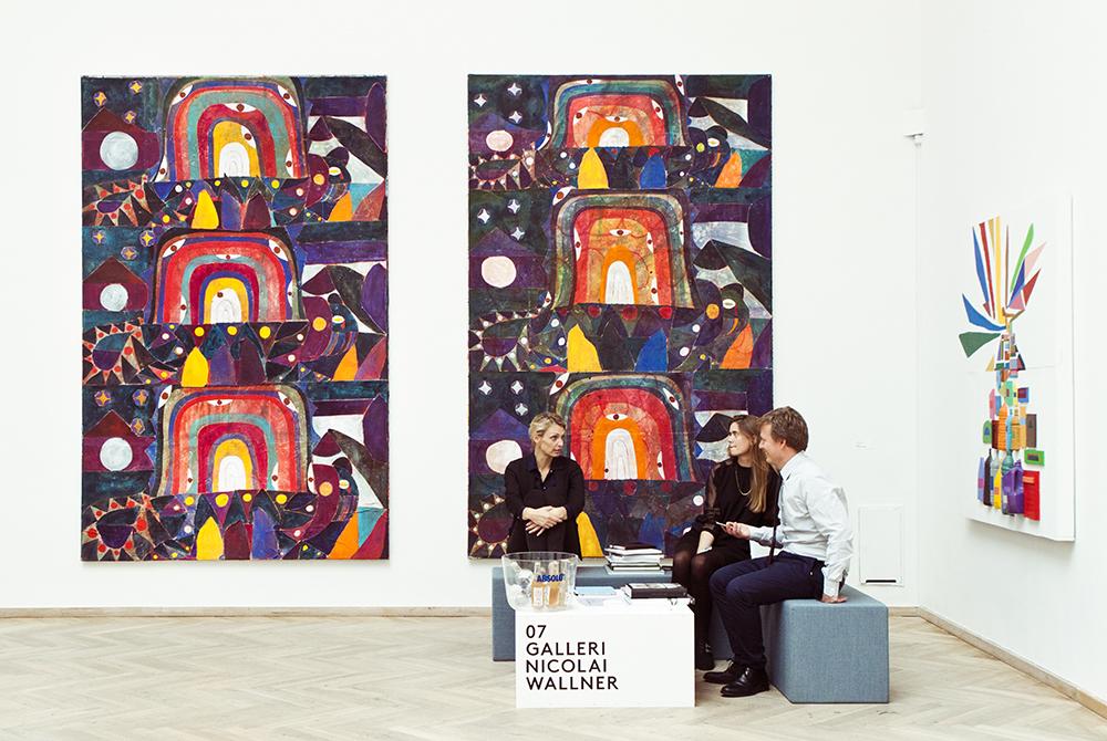 Galleri Nicolai Wallner | Alexander Tovborg & Chris Johanson.