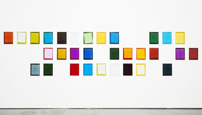 "Ebbe Stub Wittrup ""After Matyushin's Guide to Color"", 2014 