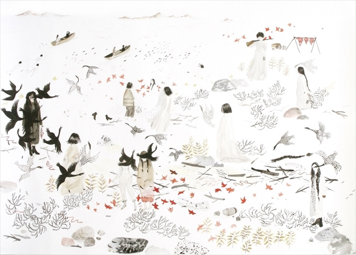 All works by Sarah Burwash.