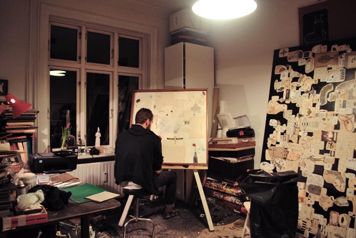 Anders' atelier | Foto: Carolina Echeverri.