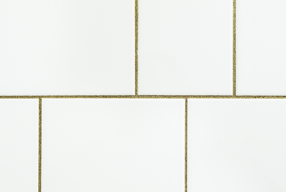 At Sven-Harry's Konstmuseum there are even gold in the gaps between the bathroom tiles | Photo by Rikke Luna & Matias © I DO ART Agency.