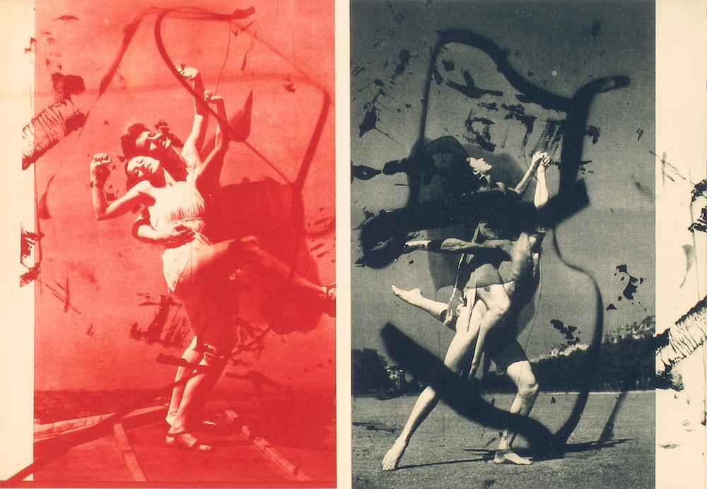 Arturo Herrera, Four Dancers (2014), fotogravure - edition på 24.