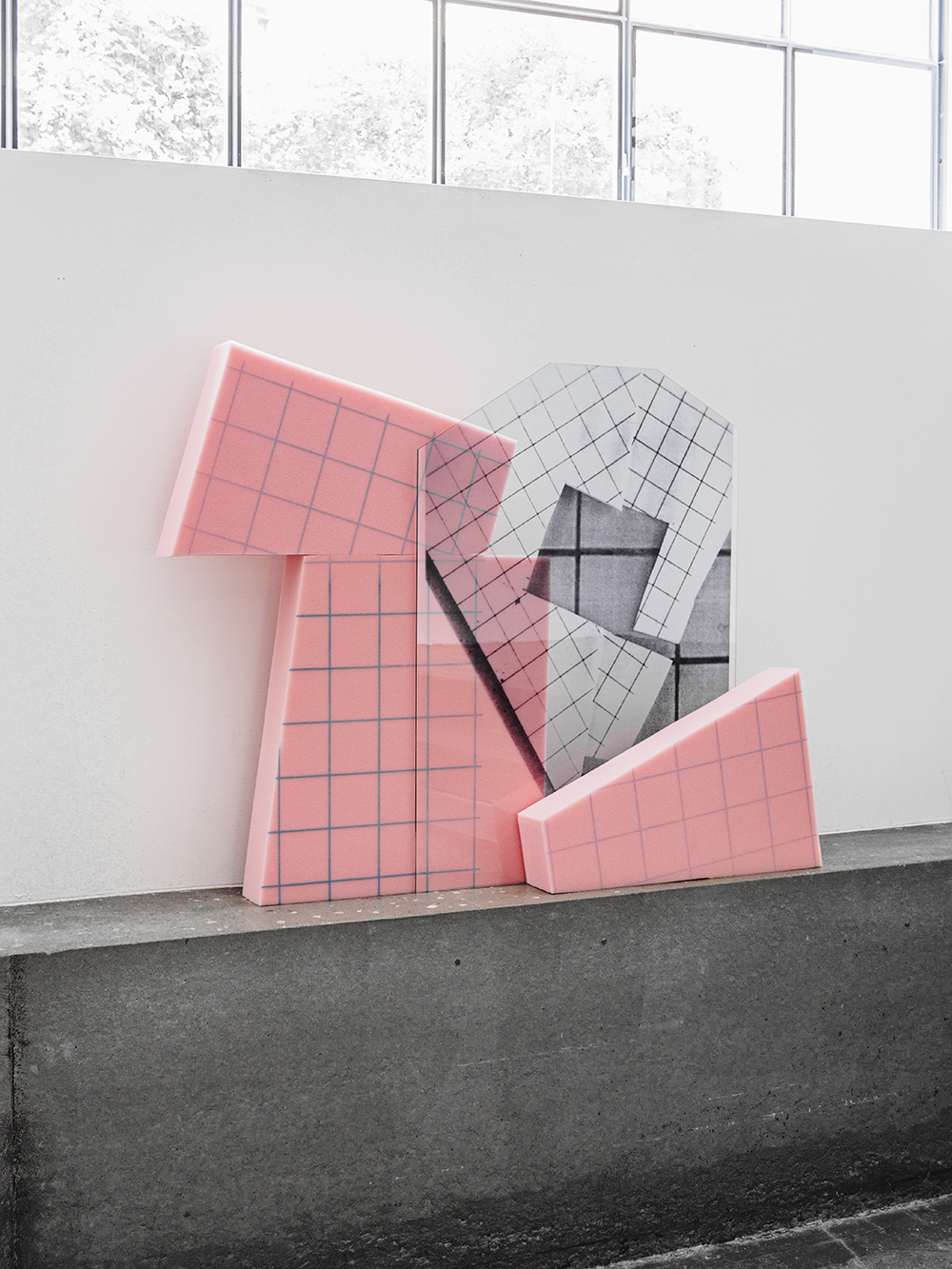 Gitte Lægård,  Sculptural Collages  | Foto af Christian B.
