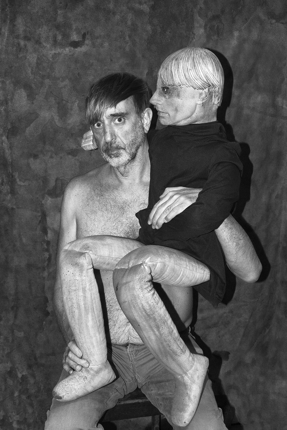 Roger Ballen and Asger Carlsen, Ballen and Carlsen, 2016. Archival pigment print on Hahnemuhle photo rag pearl paper, framed. 60 x 40 cm. Edition of 6 + 2 AP.